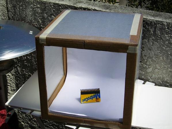 How-To: Sun-Powered Cardboard Photo Light Box