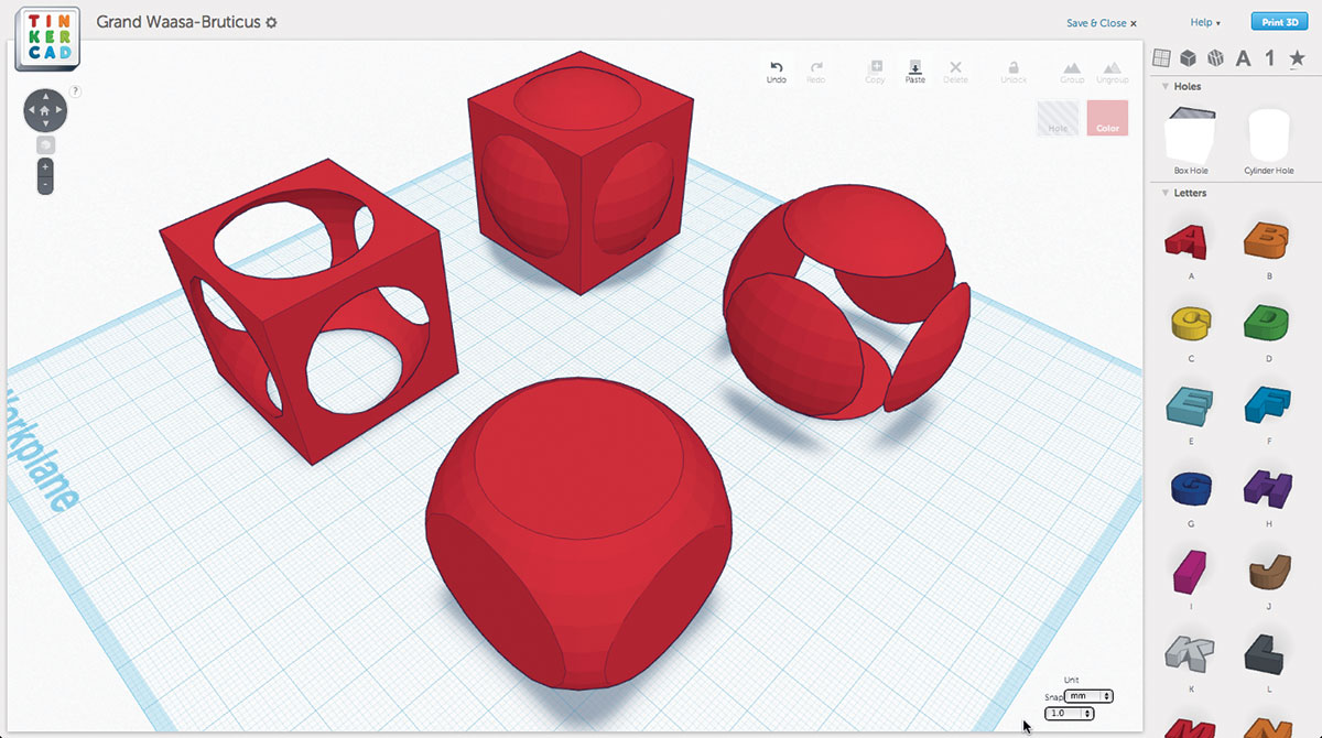 The 3D Printing Software Toolchain