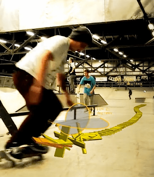 Visualizing Skateboard Tricks with an Ipod