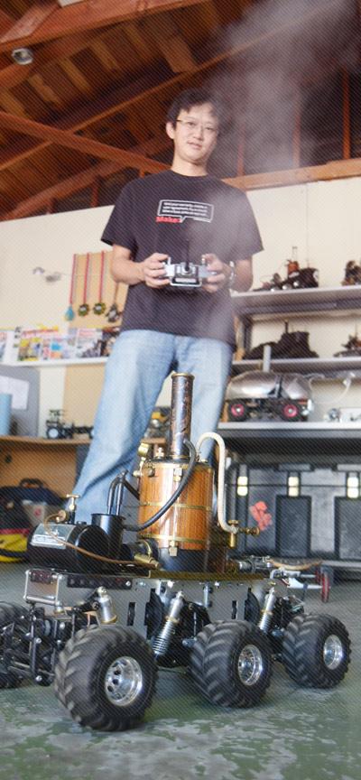 Profile of Maker I-Wei Huang