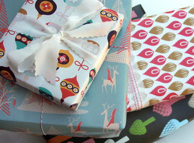 Limited Edition Spoonflower Gift Wrap
