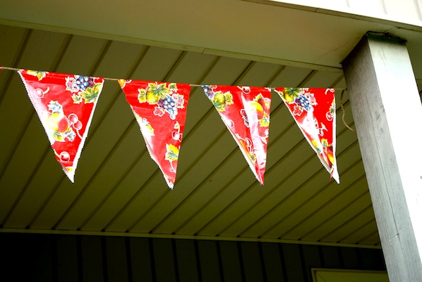 How-To: Outdoor Bunting