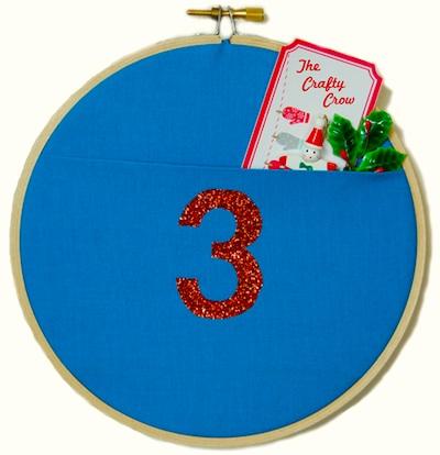How-To: Wall Pocket Advent Calendar