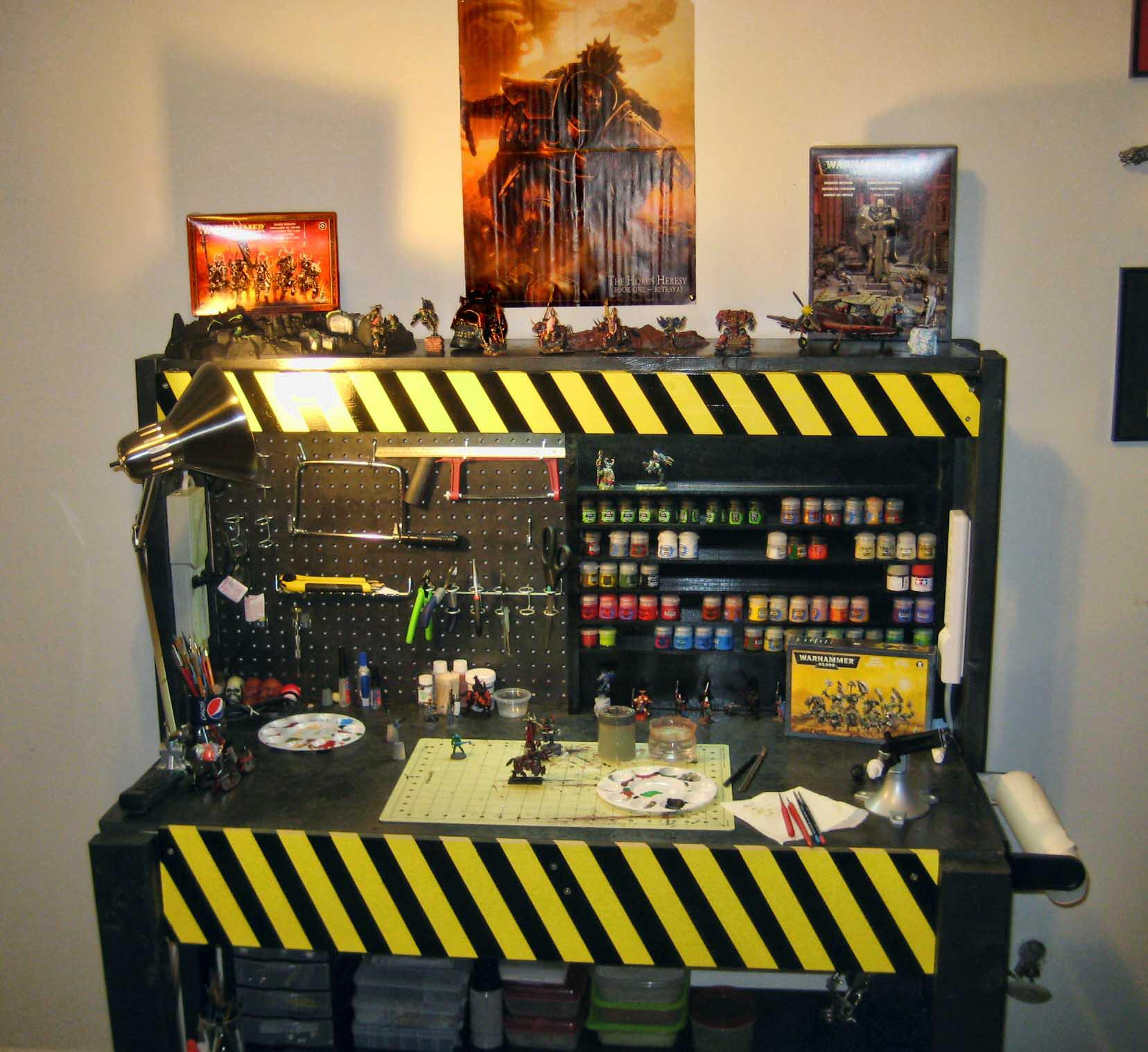 Miniatures Painting Station