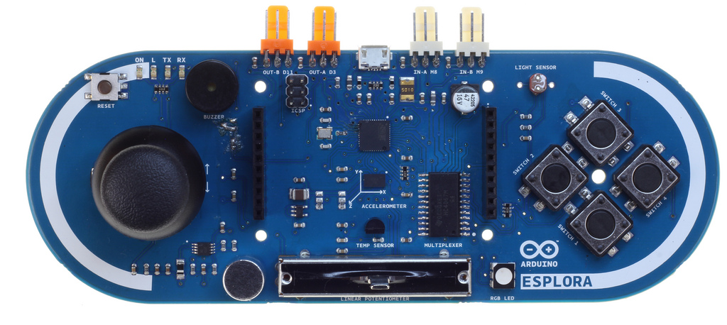 Arduino Esplora Announced