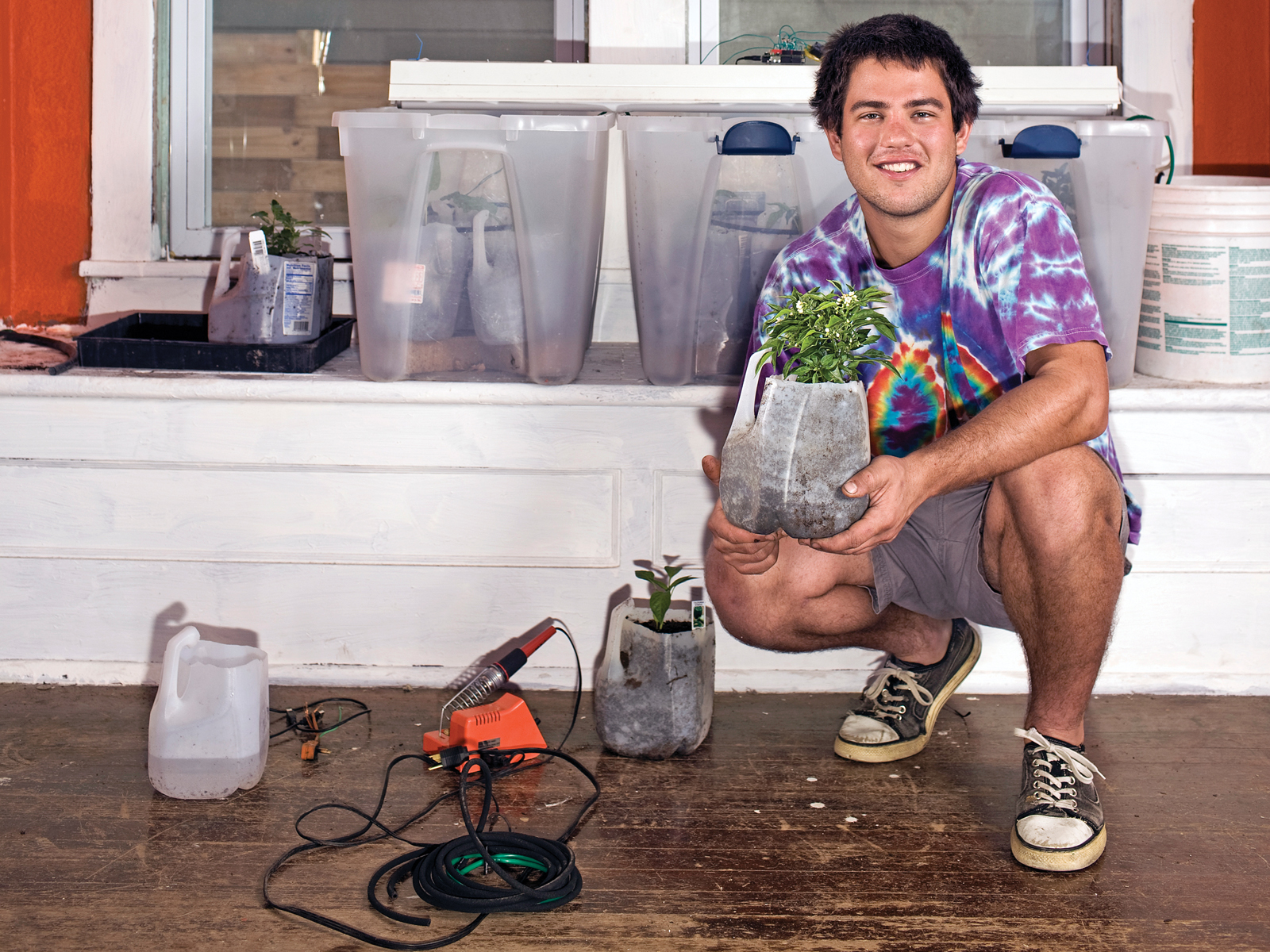 Garduino: Geek Gardening with Arduino