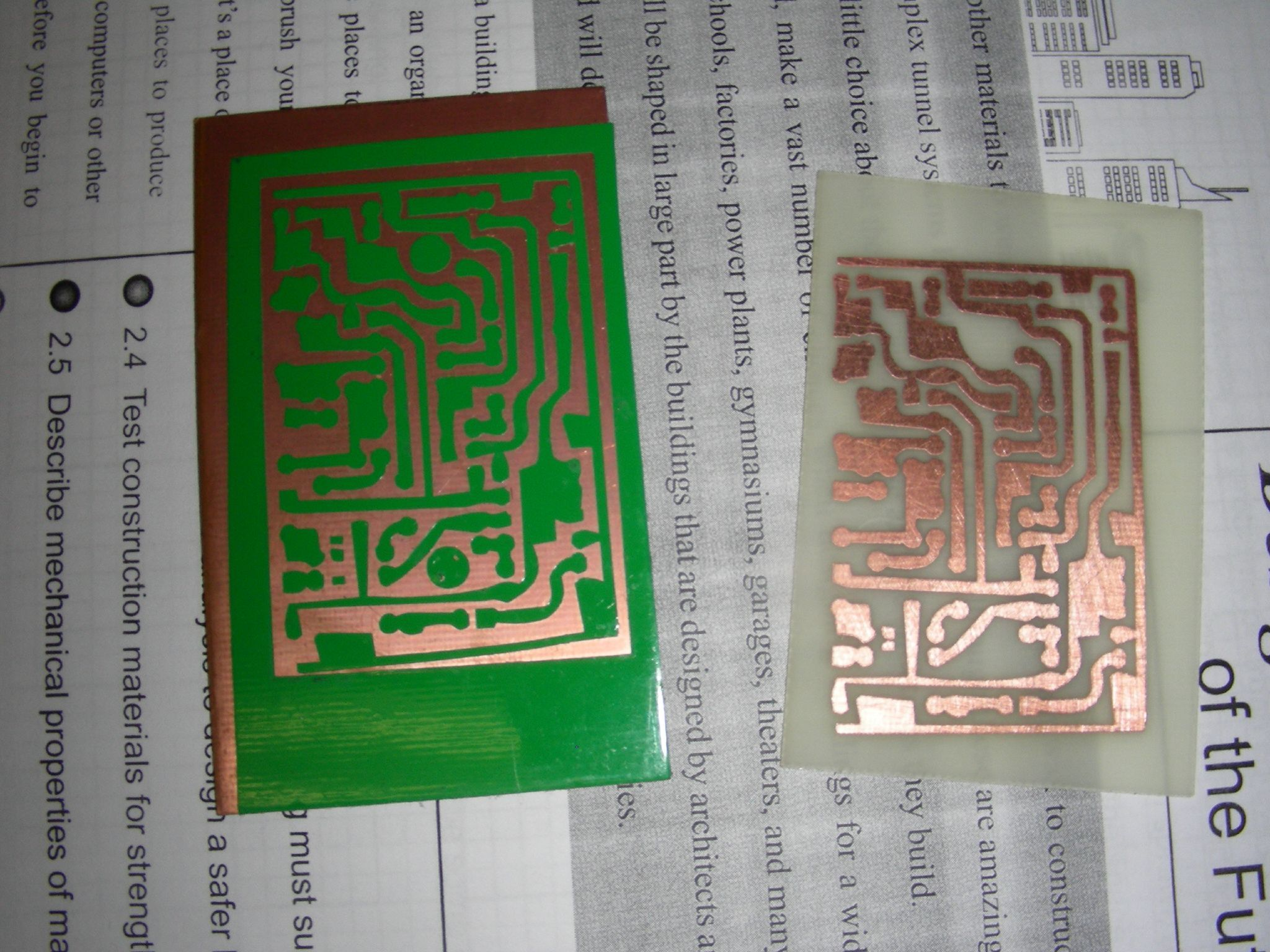 Vinyl Cut PCB Resist
