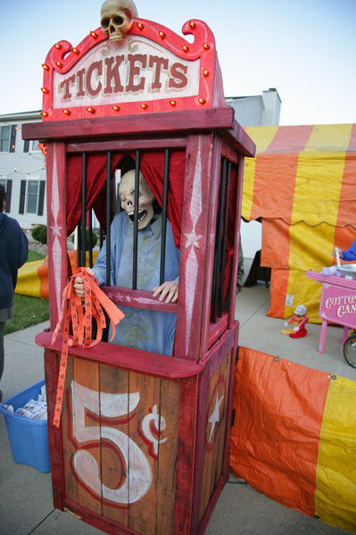 Scary Ticket Booth Build | Make: