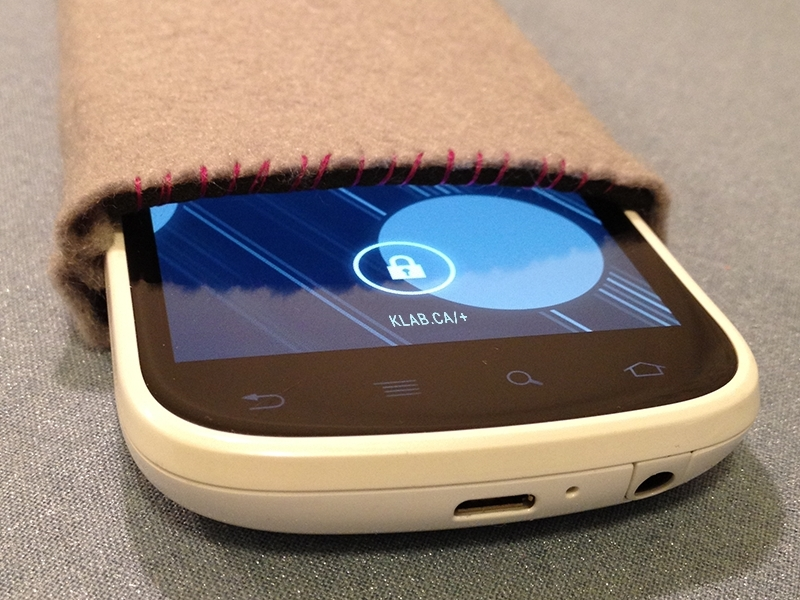 NFC-Enhanced Slip Case for Smartphones
