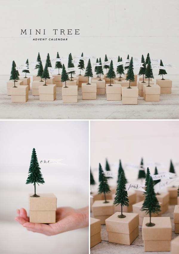 Mini Tree Advent Calendar