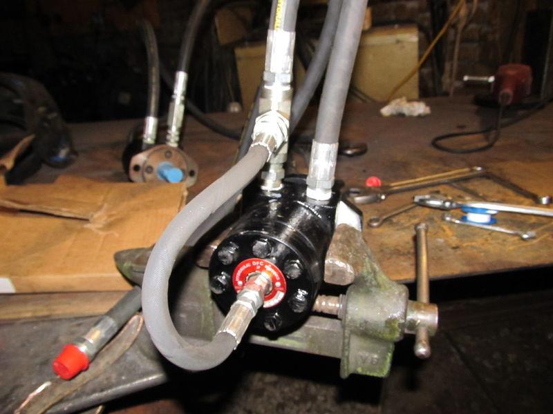 CEB Shaker Hydraulics Assembly
