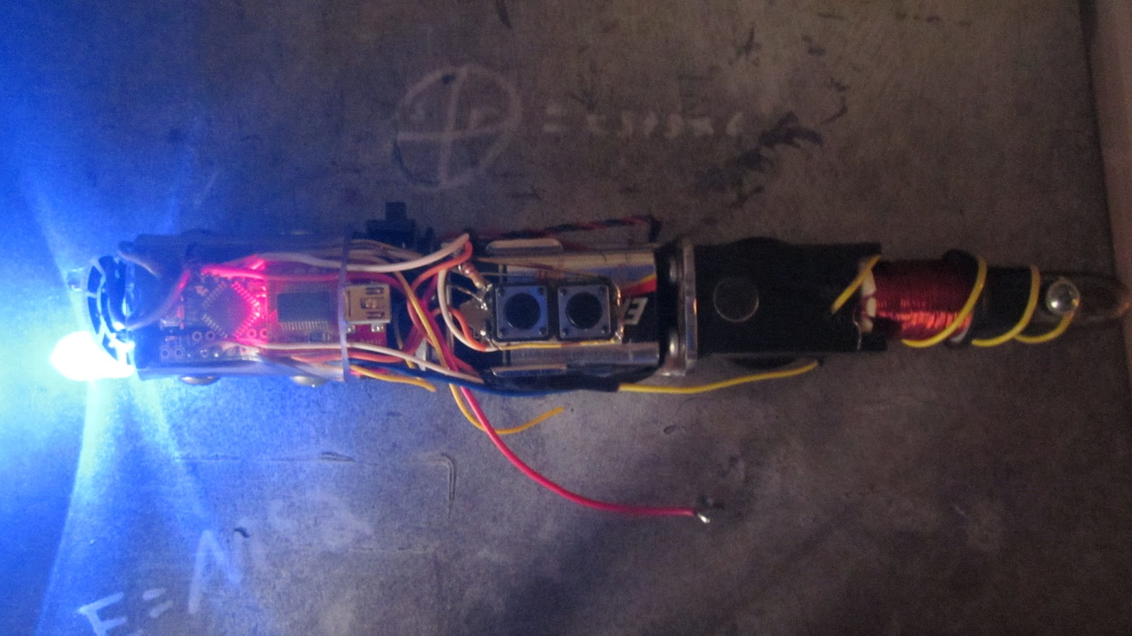 """Arduino-Controlled """"Sonic Screwdriver"""""""