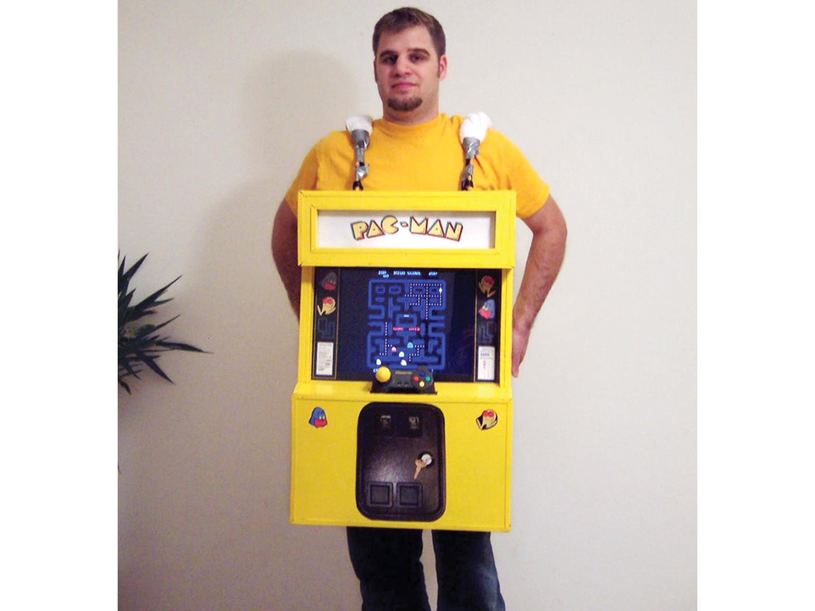 Playable Pac-Man Costume