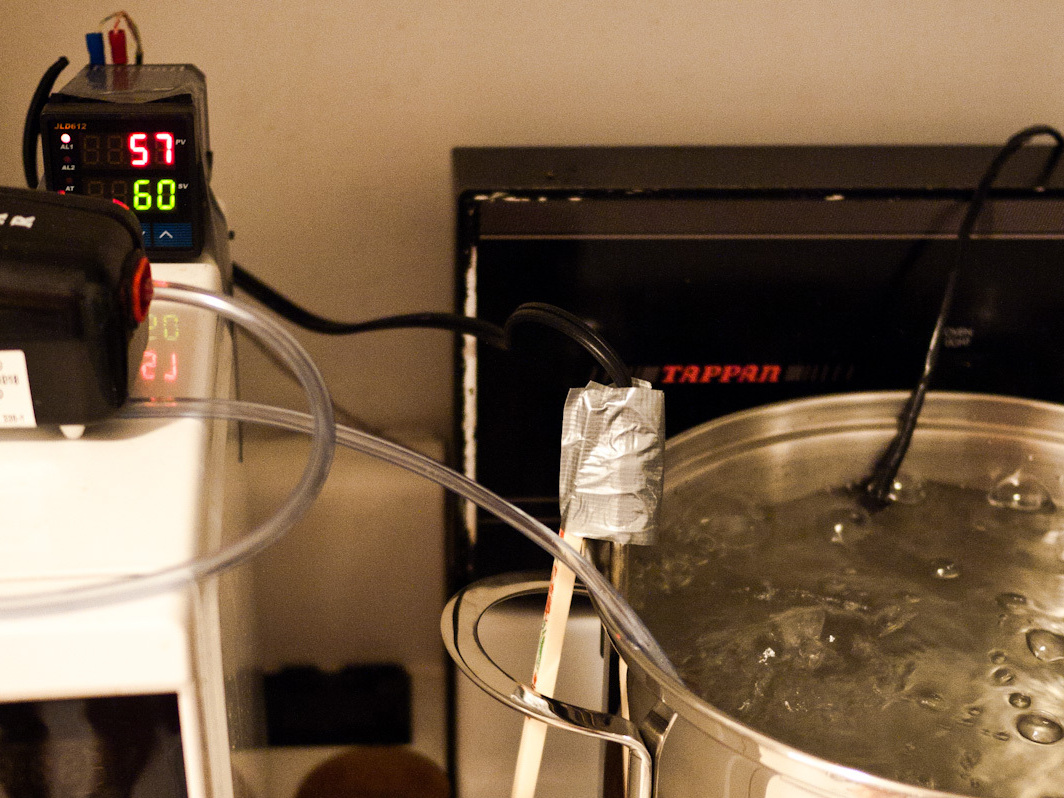 Sous Vide Immersion Heater for