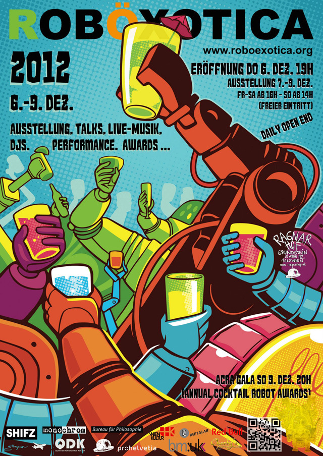 Cocktail Robot Festival Roboexotica This Weekend