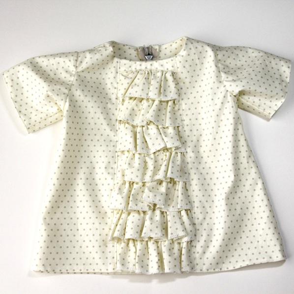 How-To: Ruffled Panel Dress