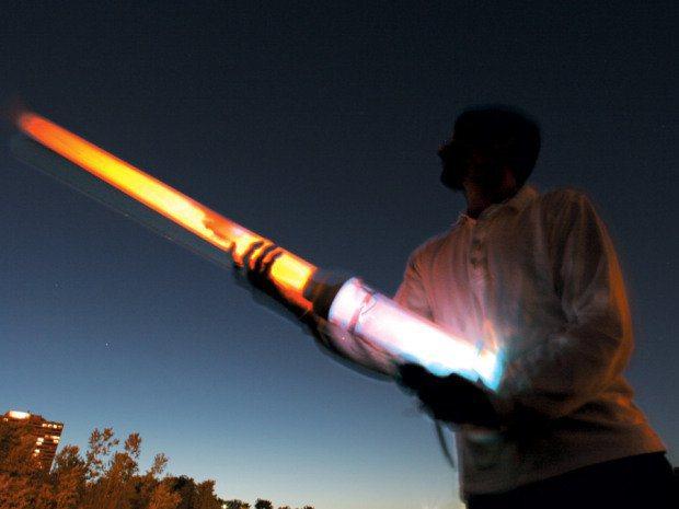 Night Lighter: See-Thru Potato Cannon