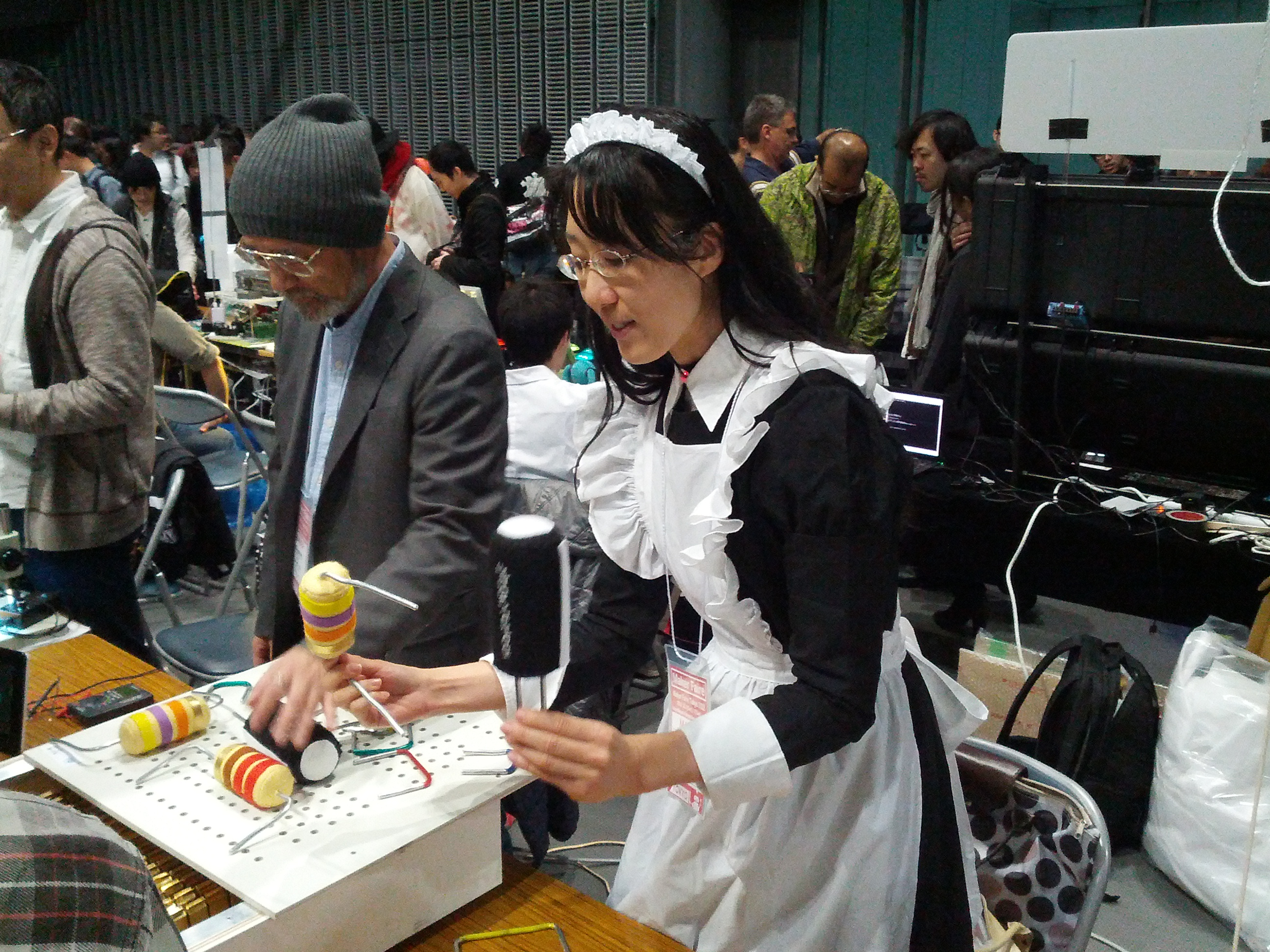 Maker Faire Tokyo 2012: Day One