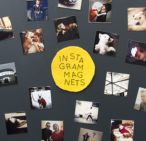 How-To: Instagram Photo Magnets