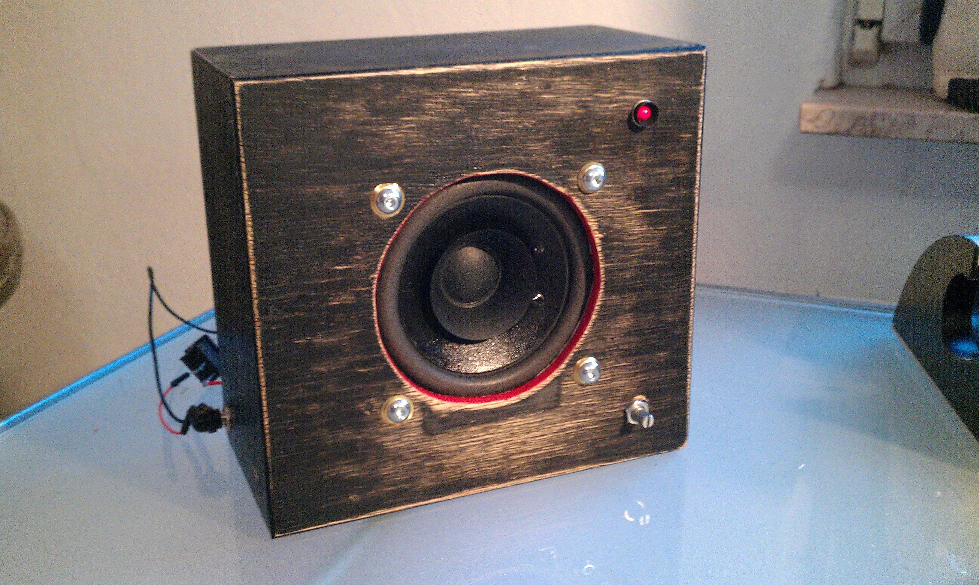 The Endlessly Modded MonoBox Powered Speaker