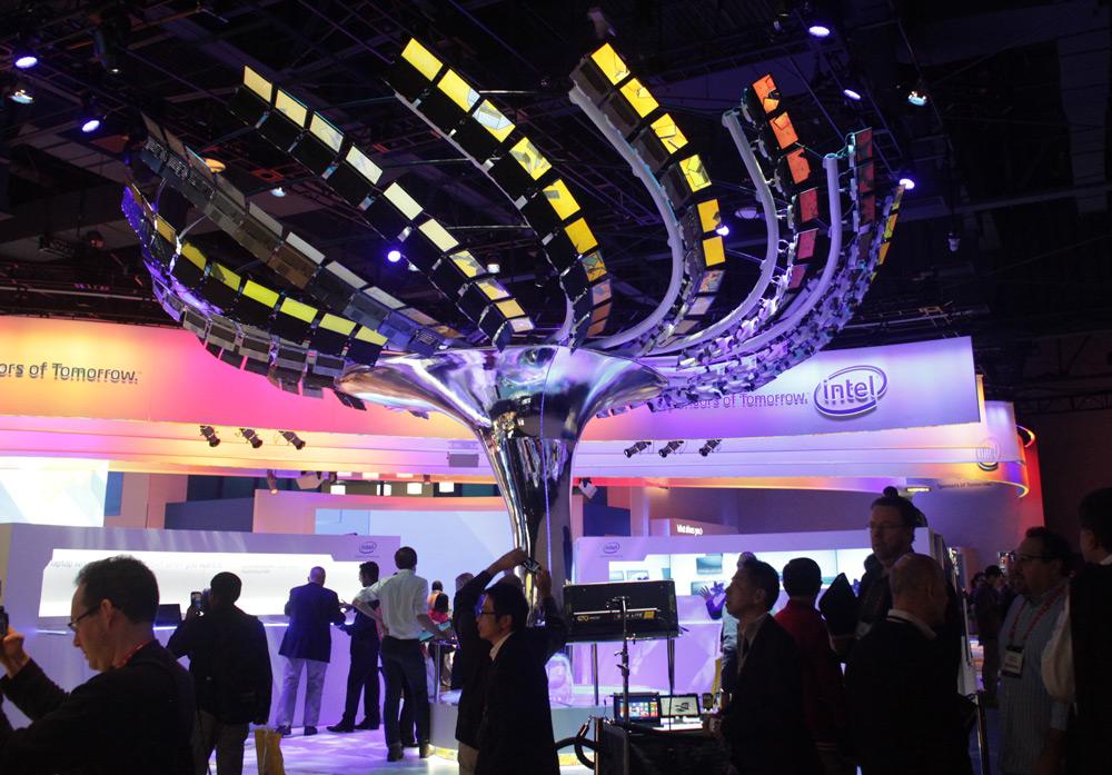 MAKE at CES 2013: Intel Ultrabook Tree