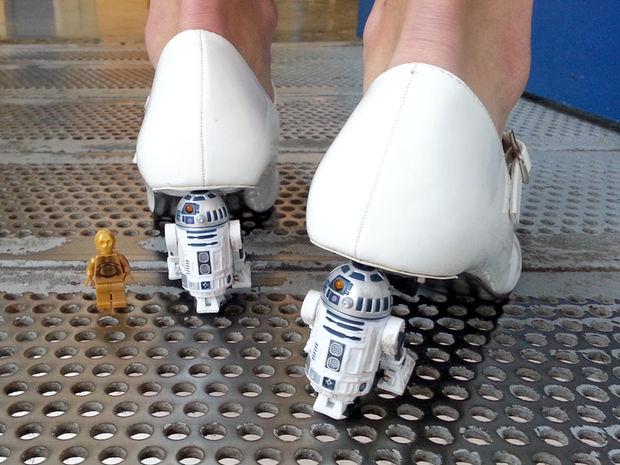 How-To: R2-D2 Heels