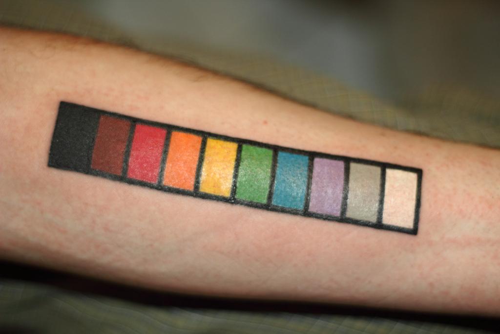 Resistor Code Tattoo