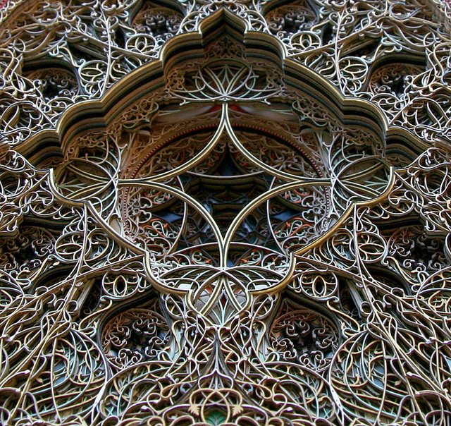 Insanely Intricate Laser-Cut Paper Sculptures