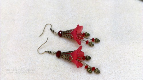 How-To: Vintage-Inspired Flower Earrings
