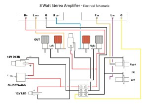 Popsicle Amp Wiring Schematic