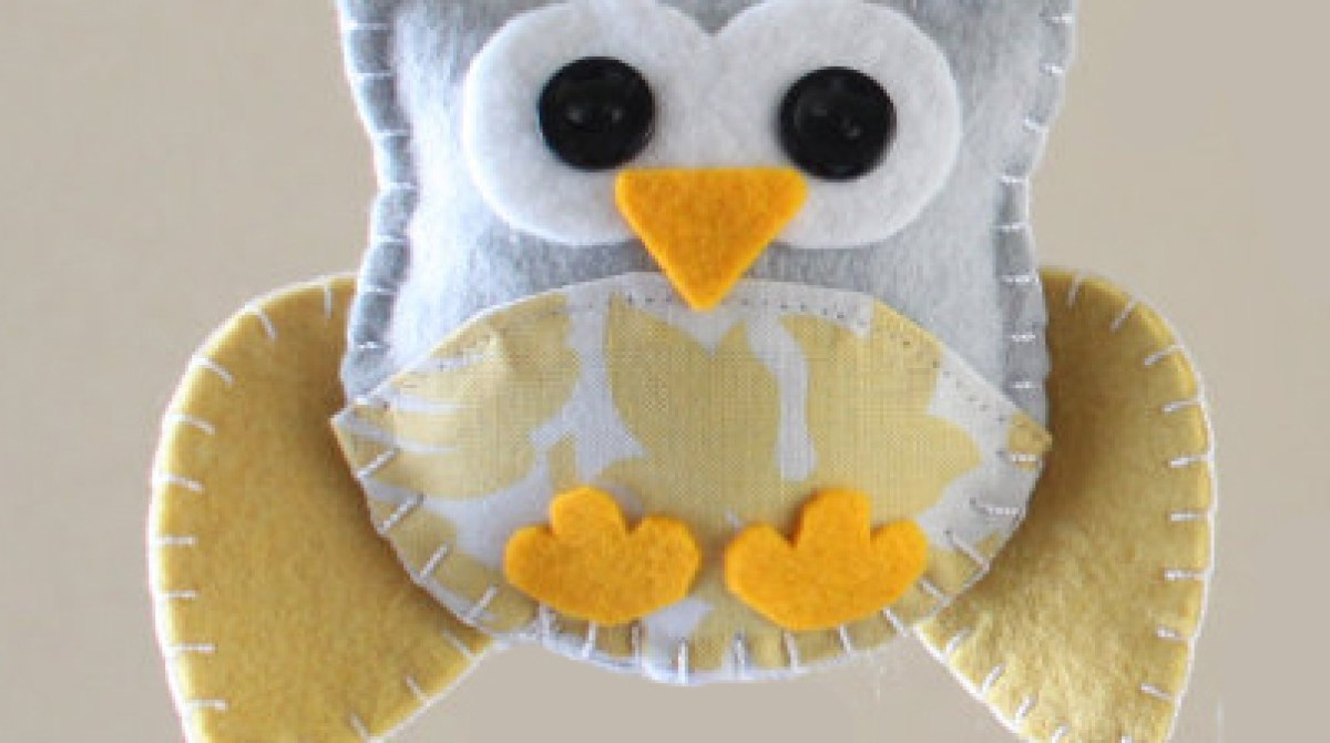 How-To: Mini Felt Owl