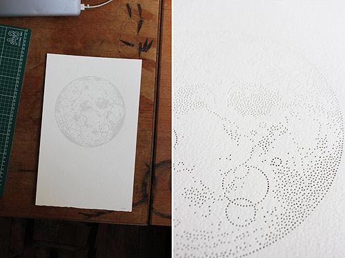 Pinprick Drawing