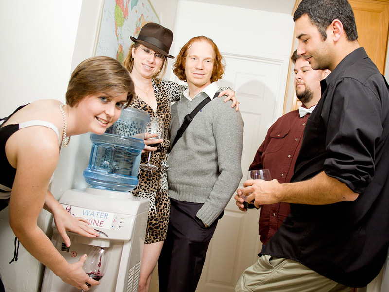 Perform Miracles with the Water-to-Wine Cooler