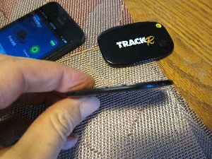 TrackR: Crowdfunded Bluetooth Wafer Helps You Find Misplaced Wallet, etc.
