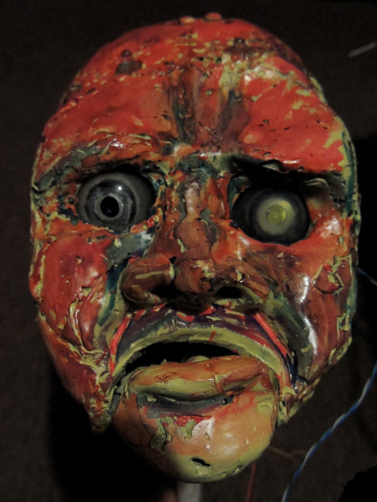 Gruesome/Awesome Web-Controlled Puppet