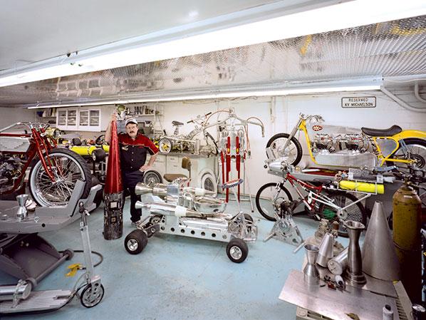 Workshop — The Rocketman's Garage