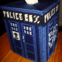 See the post: Free Needlepoint TARDIS Tissue Box Pattern