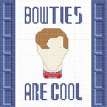 """See the post: Free Eleventh Doctor """"Bow Ties Are Cool"""" Cross-Stitch Pattern"""