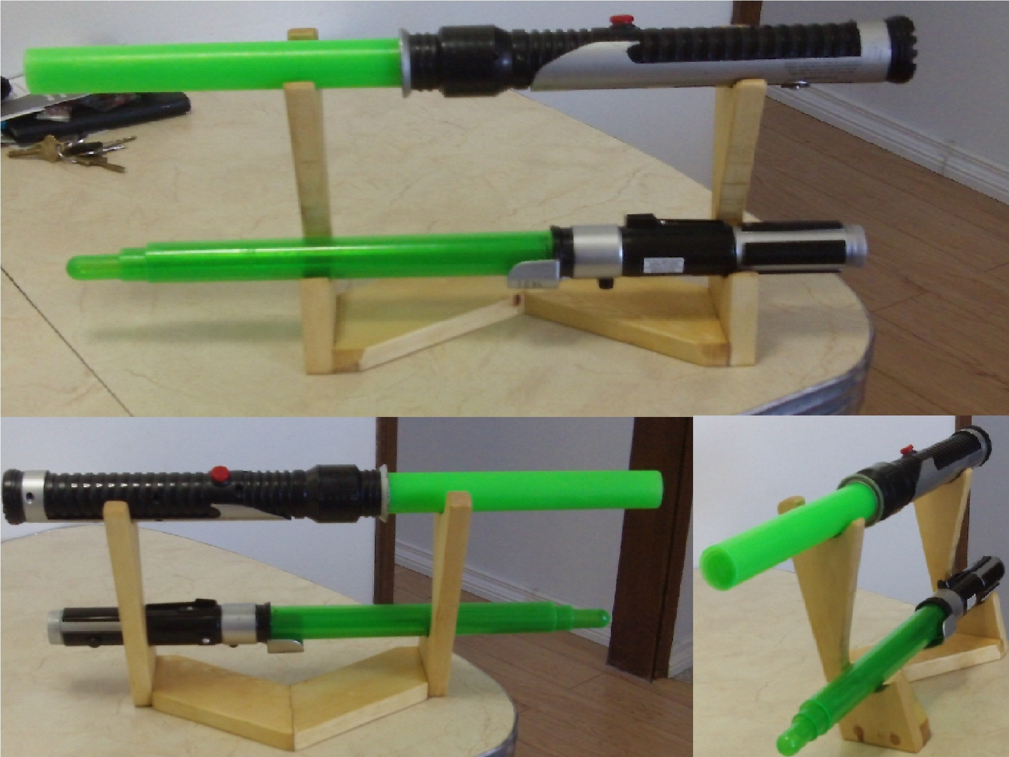 Light Sabre Stand
