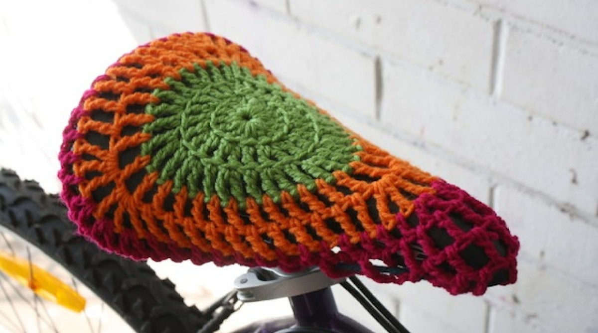 How To Crocheted Bike Seat Cover Make