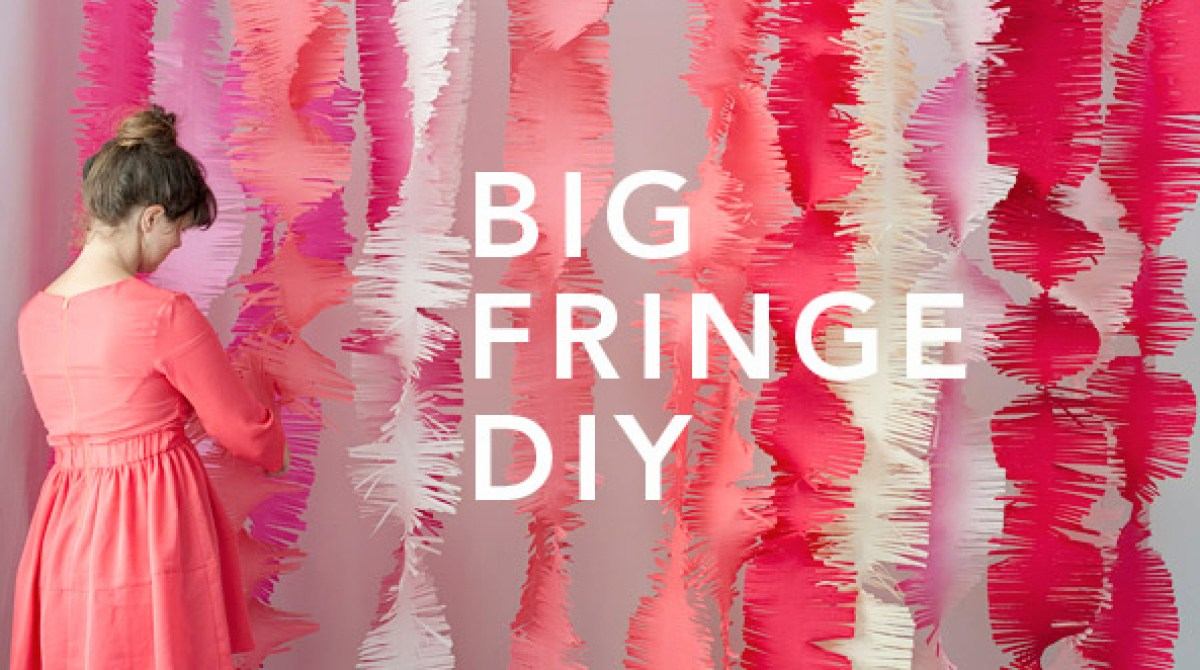 Big Fringe Party Wall