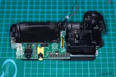 Raspberry Pi makes a great companion for DIY camera projects. Above, David Hunt used the Raspberry Pi to make a custom battery grip for his DSLR.