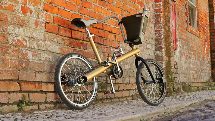 Making a Bike Out of Car Parts