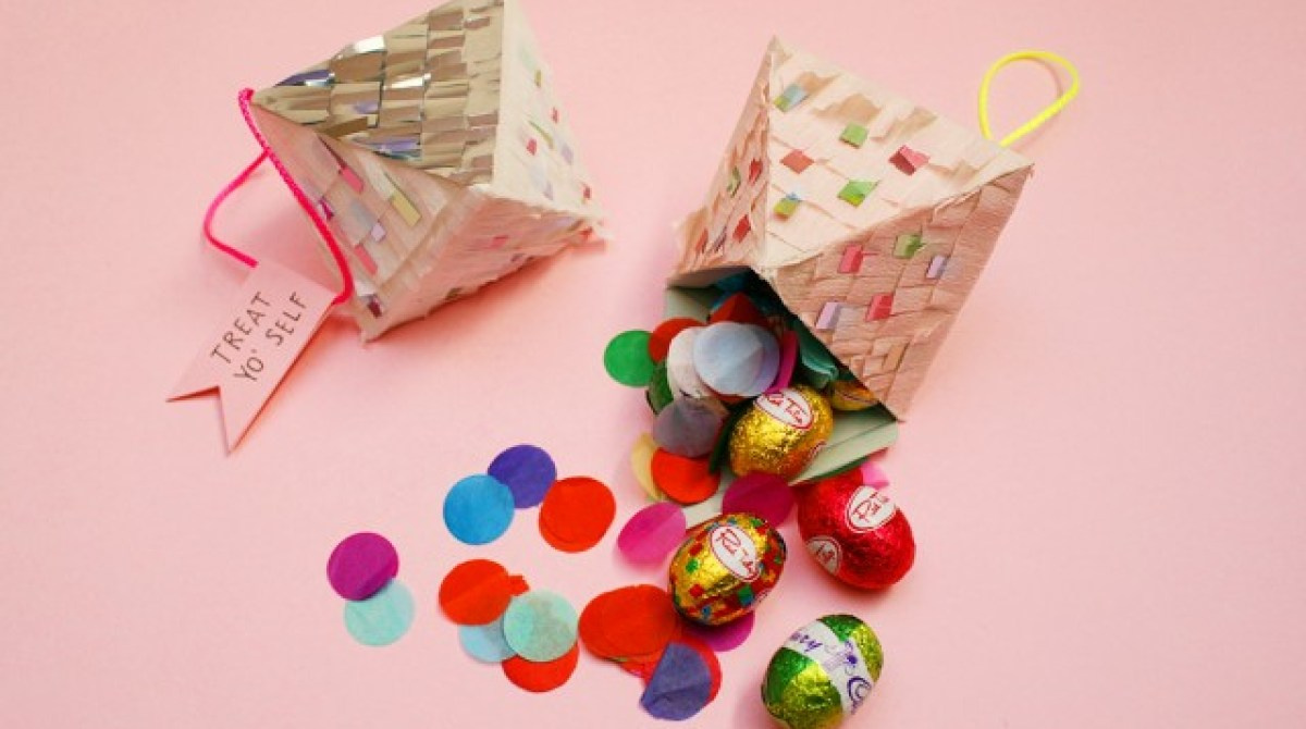DIY Easter Pinatas