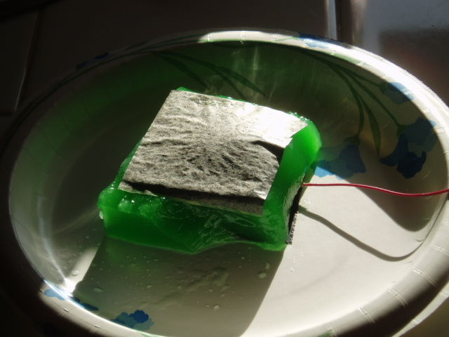 Lime Jello Fuel Cell