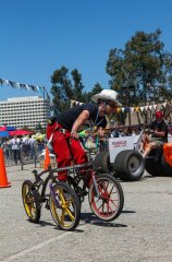 Cyclecide's Laird Rickard joins the fun.