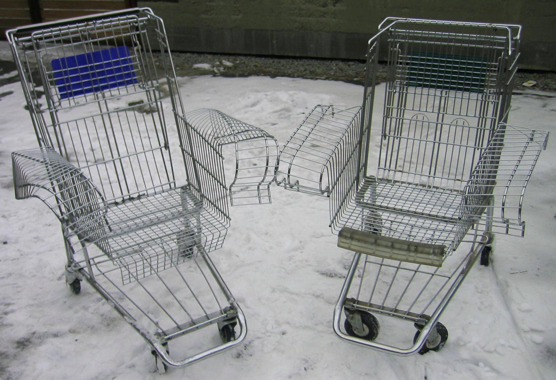 Heirloom Technology — Shopping Cart Chair