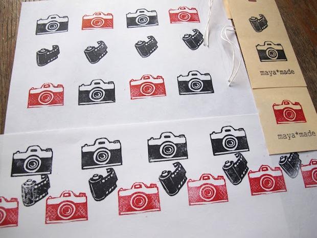 Tiny Camera Stamps