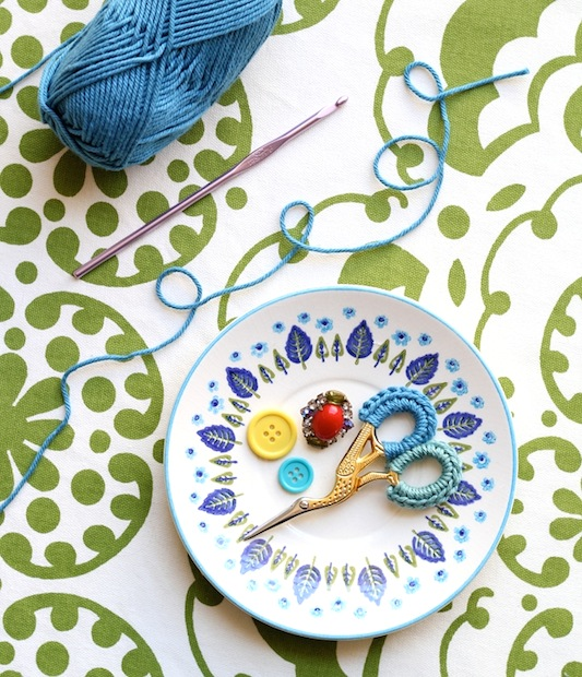 How-To: Crocheted Scissor Grip Covers