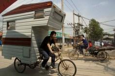 Camper Bike in the wild